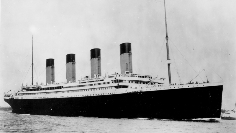 Image result for hitchcock titanic